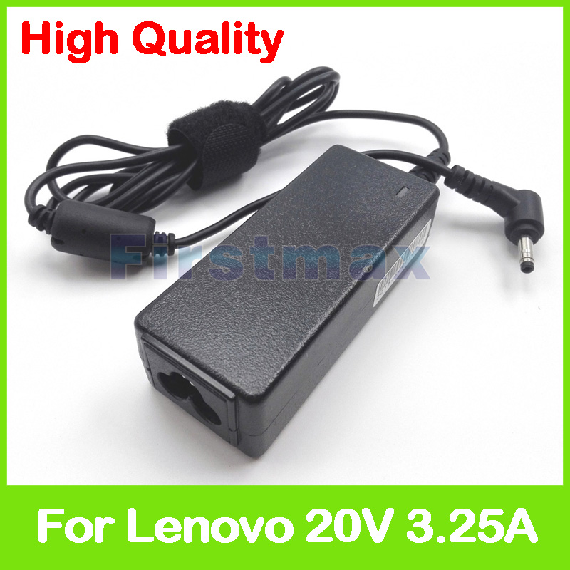20V 3.25A laptop ac adapter charger for Lenovo IdeaPad 310 110 100 YOGA 710 510 Flex 4 5A10K78750 PA-1650-20LK ADLX65CLGK2A