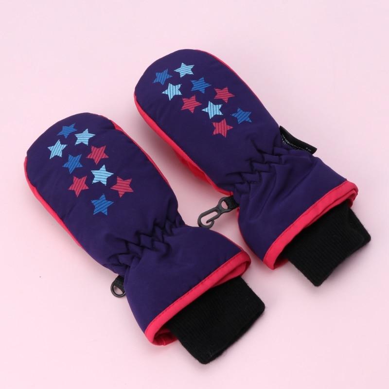 Accessories Baby Winter Waterproof Mittens Boy Girl Kids Children Thickening Warm Ski Gloves Boys' Baby Clothing