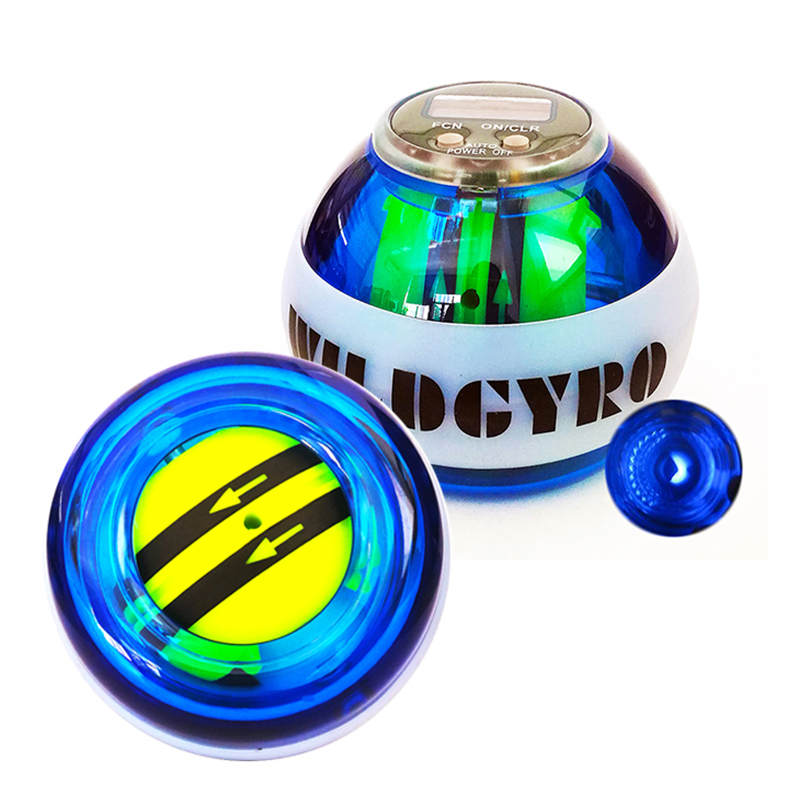 LED Wrist Trainer Gyroscope Strengthener Gyro Arm Power Ball Exercise Machine Gym Auto Fitness Forearm Trainer Wrist Ball