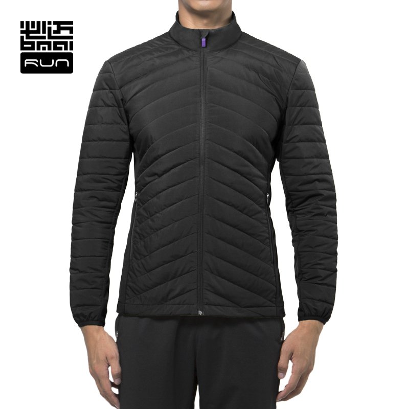 BMAI  Running Jacket For Man Woman Winter Warm Windproof Fitness Outdoor Sports Clothing Cotton Paded Long Sleeve Jacket Lovers