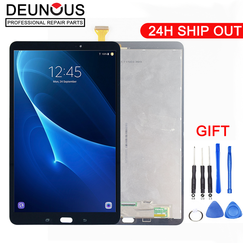 New 10.1 For Samsung Galaxy Tab A 10.1 T580 T585 SM-T580 SM-T585 LCD Display Matrix Touch Screen Digitizer Sensor Assembly 2 color for samsung galaxy tab a 10 1 t580 t585 sm t580 sm t585 touch screen digitizer sensor lcd display monitor assembly