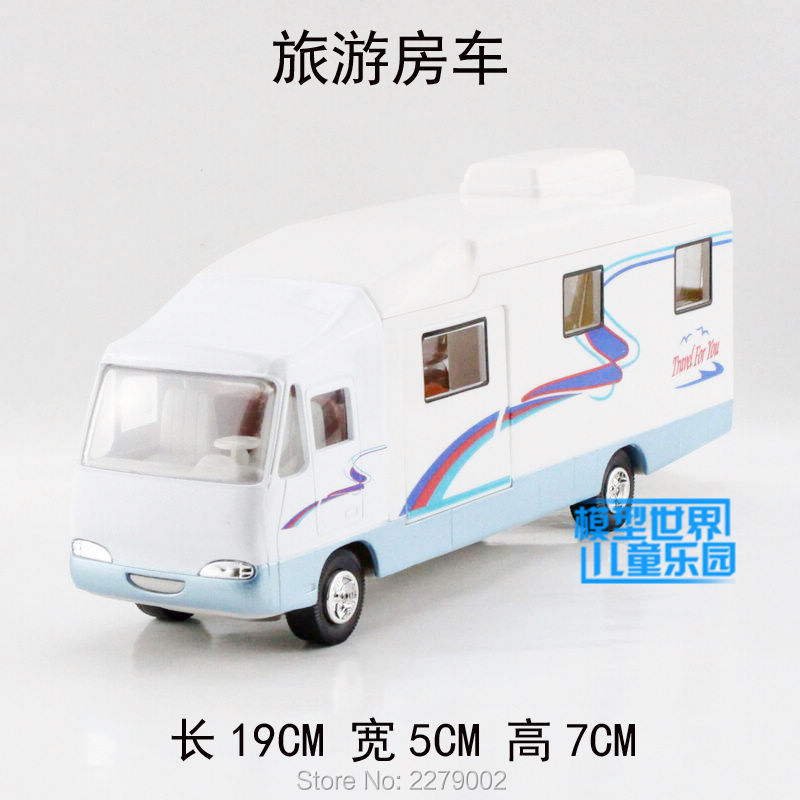 Simulation toy car model Motor Home toy Die cast Metal Souptoys Have a pull back action