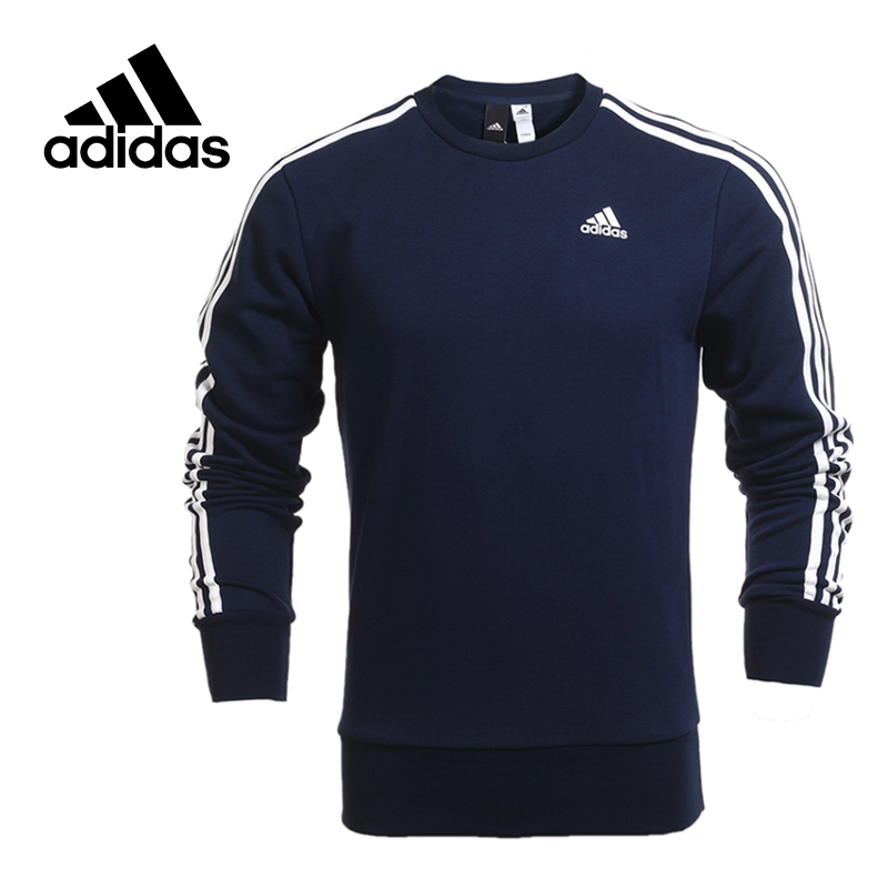 Adidas Original New Arrival Official NEO Men's Breathable O-Neck Pullover Jerseys Sportswear B45731 цена