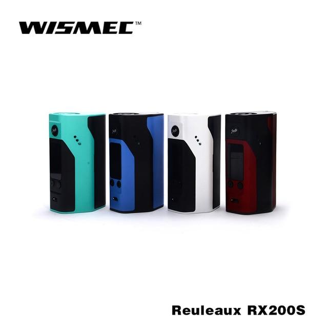 100% Оригинал Wismec Reuleaux RX200S огромные жидкостью vape e пачку сигарет mod лучших для RTA распылитель огромные жидкостью vape сигареты комплект e