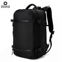 OZUKO New Men S Backpack 17 3Inch Laptop Backpack School Bag Large Capacity Travel Backpack Multi