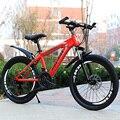 Горный велосипед студентов взрослых изменение скорости два диска тормоза амортизатор 26-дюймовый горный велосипед