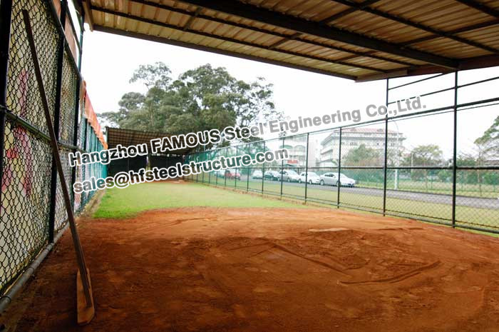 Agriculture Steel Structure Framed Poultry Shed