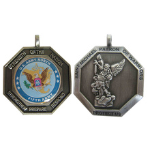 custom medals Promotional antique silver Metal Medal OEM 3D