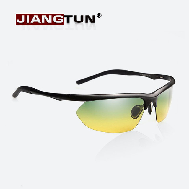 Polarisierte Sonnenbrillen Nachtfahrten Sport im Freien Sonnenbrillen Geeignet für Tag und Nacht Grau JZ1vIr