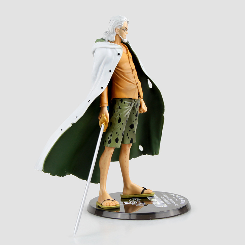 new 17cm Anime One Piece Vice Captain Pluto Raleigh hand ...