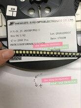 2000 stks/partij 3528 SMD LED 2835 6V Koel wit 96LM Voor LCD Backlight LED Kralen