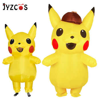 JYZCOS Inflatable Pikachu Costumes Halloween Party Cosplay Costumes Carnival Pokemon Mascot Costume for Kids Adults Men Women - DISCOUNT ITEM  34% OFF All Category