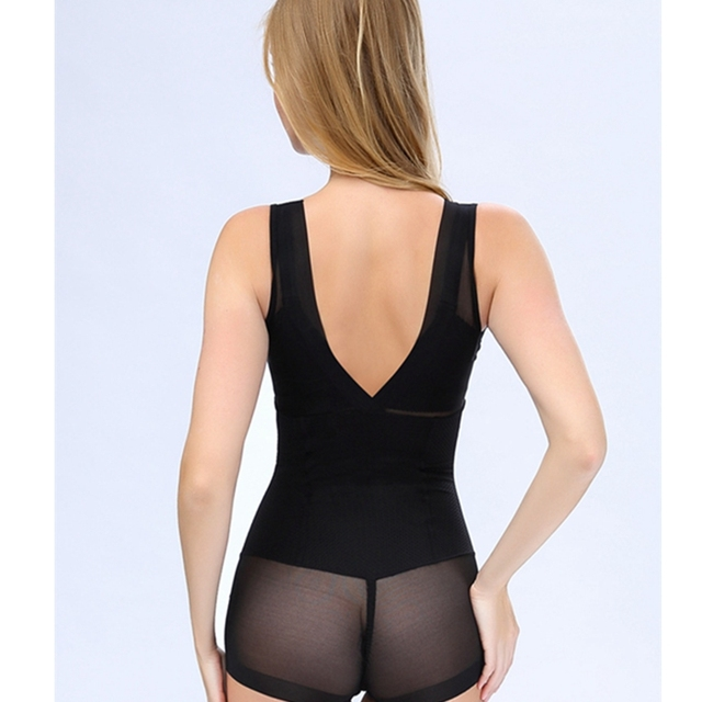 PADAUNGY Hot Shapers For Women Thin Push Up Bodysuits Waist Trainer Slimming Underwear Full Bodyshaper Plus Size Butt Lifter