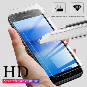 Image 3 - 3Pcs מגן זכוכית לסמסונג גלקסי A7 A9 2018 A6 A8 J4 בתוספת מסך מגן זכוכית מחוסמת עבור Samsung a50 A51 A40 J6 J4