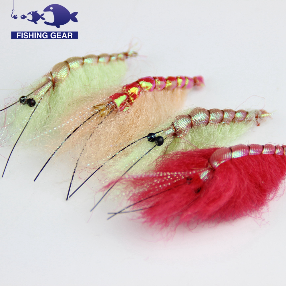 Best handmade cheap shrimp fly fishing lure freshwater wet for Fly fishing lures