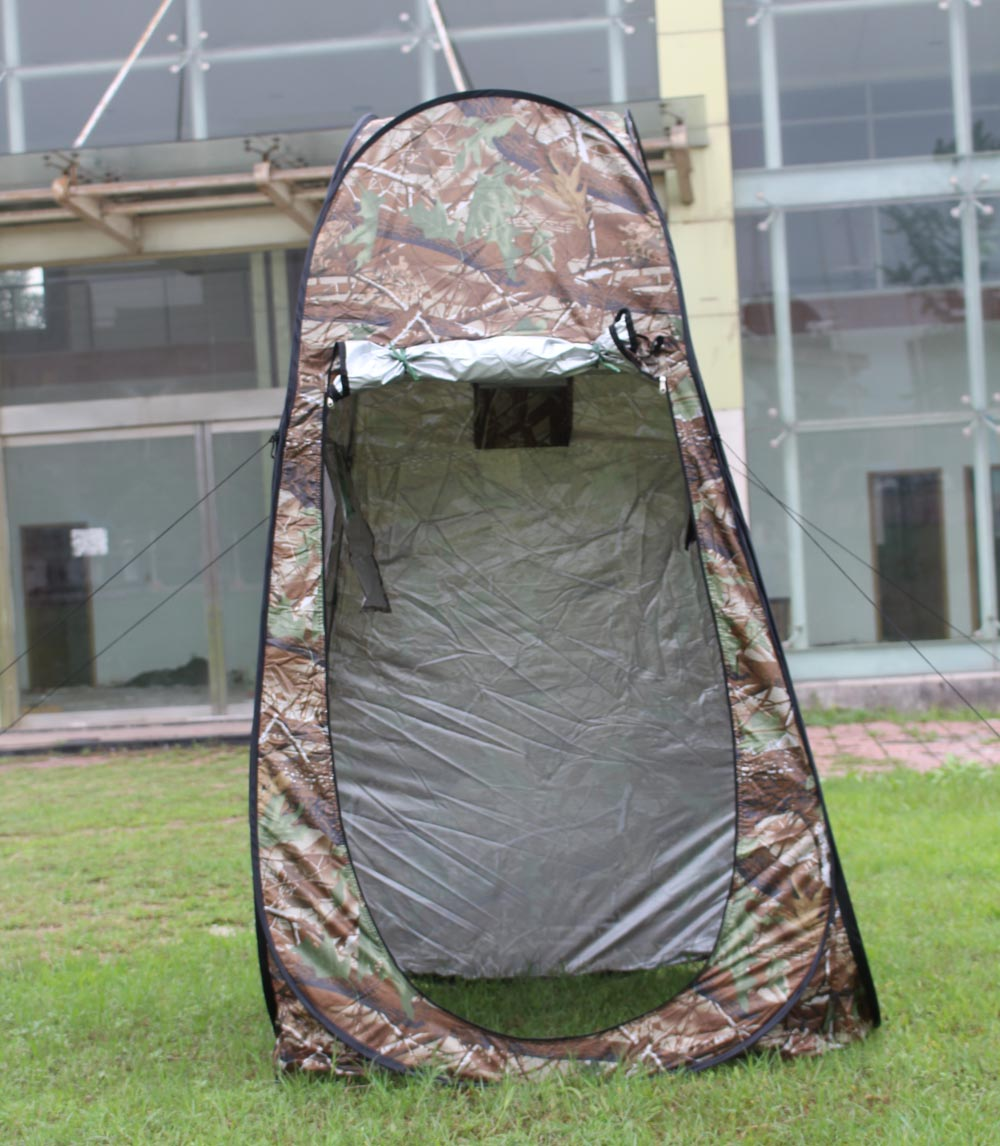 PU1500 180T polyester Camouflage Changing Tent Portable Privacy Shower Toilet Tent C&ing Pop Up Privacy Tent-in Tents from Sports u0026 Entertainment on ... & PU1500 180T polyester Camouflage Changing Tent Portable Privacy ...