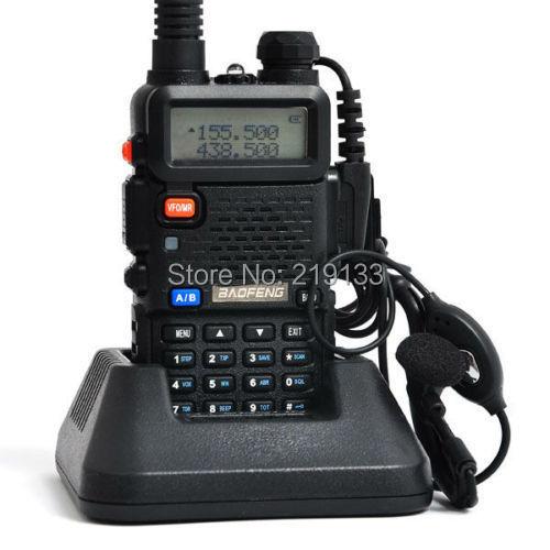 radio sender UV-5R, 136-174MHz og 400-520MHz dual band FM radio, gratis hodetelefon 2014 baofeng ny