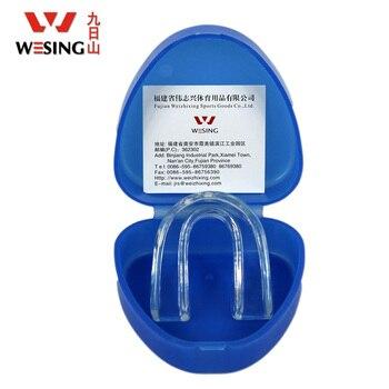2013 Новые силиконовые безопасности питания неприкосновенность спортивные Каппы с коробкой силикагель одного лица молярная Баскетбол зубы