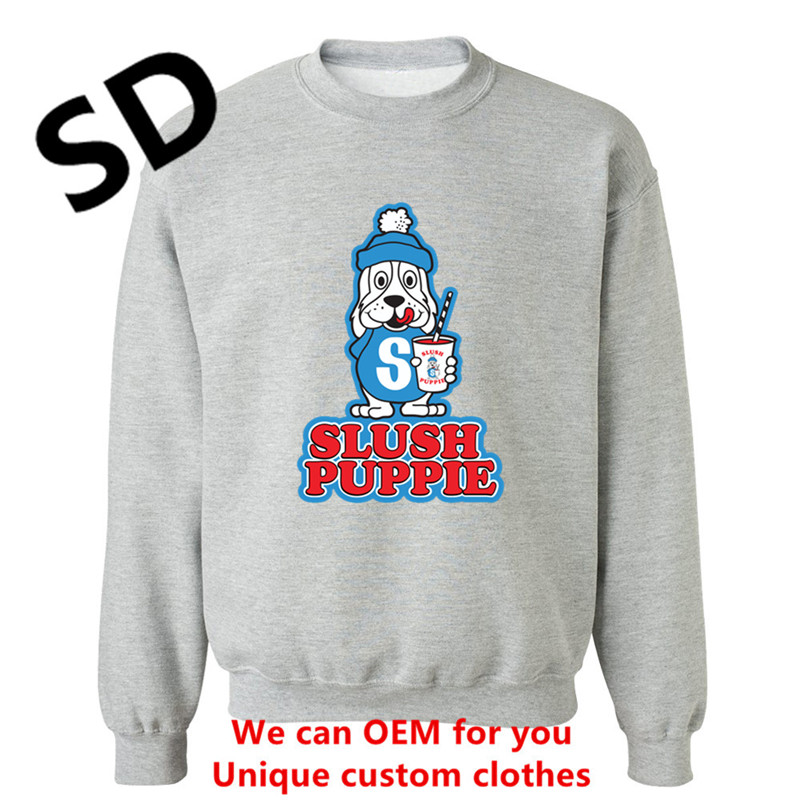 Dropshipping Funny 3D Hoodies Men Slush Puppie Retro Hoodies