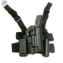 Fs тактическая кобура sig sauer p226 подшипник света w/mag сумка