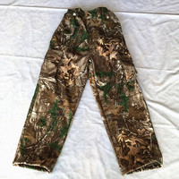 Sniper Tactical Autumn Winter Camouflage Hunting Pants Warm Fleece Trousers For Outdoor Sports