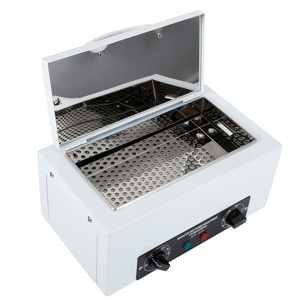 3/2/1 шт. маникюрный салон стерилизатор коробка высокого Температура дезинфекционный шкаф Портативный съемный Нержавеющаясталь насоса HWC
