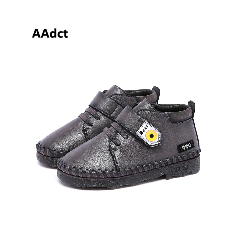 AAdct New Winter warm Fashionable boys shoes Leisure Comfortable Children shoes for girls High quality Sneakers kids shoes