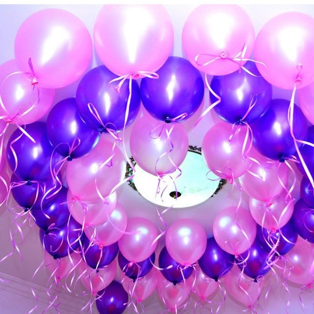 100pcs Birthday Decoration Home Decor Latex Balloon For