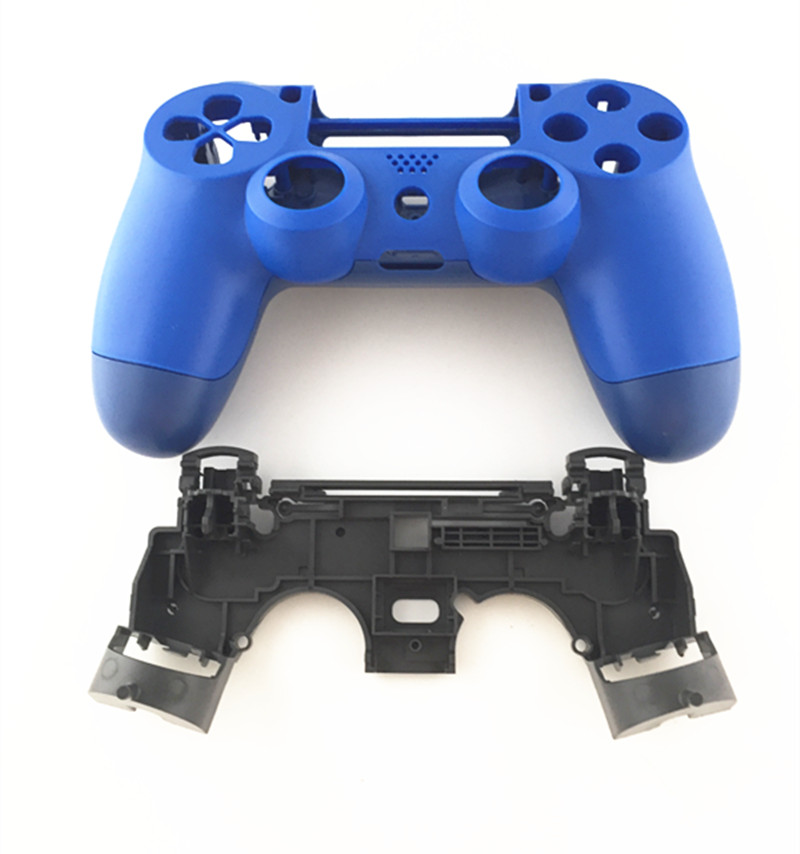 PS4 Pro 4 0 Controller JDS040 JDM 040 V2 Front Back Hard Plastic Upper Housing Shell Case For Playstation 4 pro Gen 2 Gamepad in Cases from Consumer Electronics