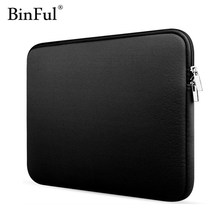 "BinFul Sleeve Case For Macbook Laptop AIR PRO Retina 11"",12"",13"",15 inch, Notebook Bag 14"" ,11.6'' 13.3"",15.4"" 15.6 Laptop Cases(China)"