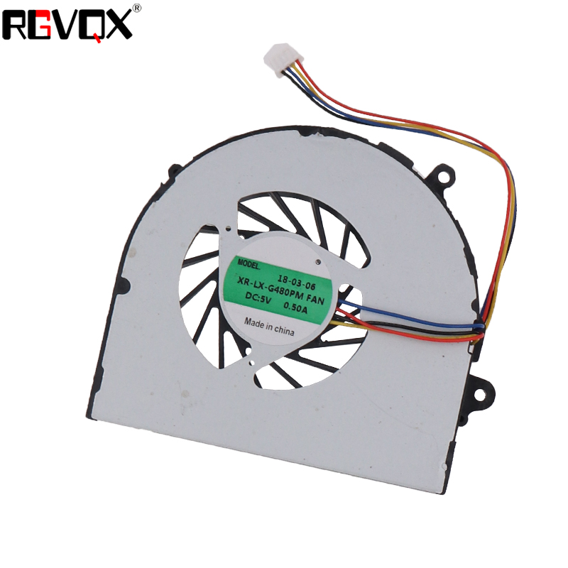 Купить с кэшбэком New Laptop Cooling Fan for Lenovo G480 G480A PN: AB07005HX12DB00 MG60120V1-C120-S99 UDQFLJP04DCM CPU Cooler Radiator
