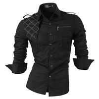 Free Shipping 2013 Spring New Fashion Casual Slim Fit Long Sleeved Men S Dress Shirts Korean