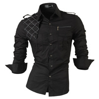 Free Shipping 2013 Spring New Fashion Casual Slim Fit Long Sleeved Men S Dress Shirts Korean