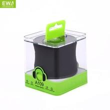 EWA A109 سماعة لاسلكية تعمل بالبلوتوث المتكلم المحمولة HIFI مكبر صوت صغير للهاتف الرياضة في الهواء الطلق بلوتوث لاعب بلوتوث مشغل MP3