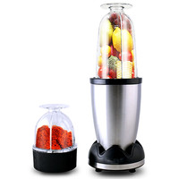 220V Stainless Steel Electric Juicer Household Automatic Food Grinder Multifunctional Vegetable Fruit Juice Extractor Machine