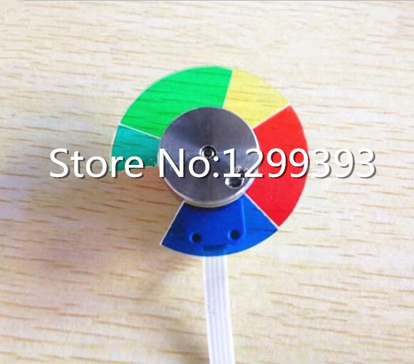 Projector color wheel for Optoma DM161  Free shipping projector color wheel for ben q w600 free shipping