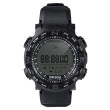Smart Watch1600 Bluetooth 4,0 Sport 1,22 zoll LCD Smart Uhr Wasserdichte Smartwatch mit El-hintergrundbeleuchtung Niedrigen Batterie Erinnerung