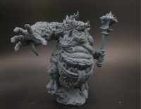 1/35 Scale Resin Figure Model Kit Chaos Demon Greedy Static Modelling Assembly DIY Toys Hobby Tool A434