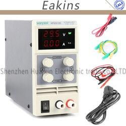 Fuente de alimentación de CC de Laboratorio Digital ajustable de KPS-3010D KPS-3010DF fuente de alimentación conmutada 30V 10 a 0,1 V/0.01A 0,01 V/0.001A