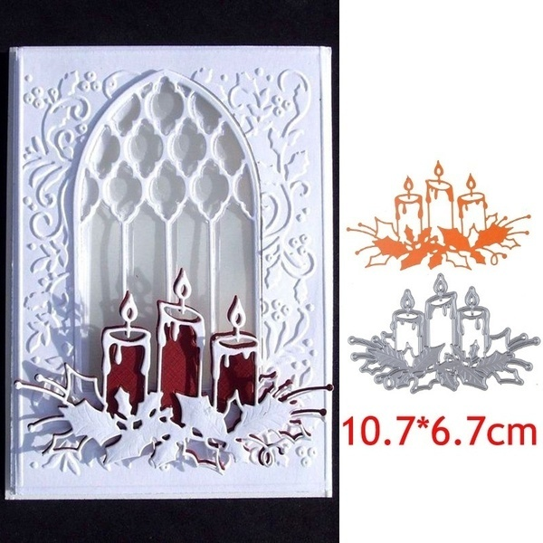 Cutting-Dies Card-Craft Candle Scrapbooking-Album Laser Wedding-Decoration Embossing