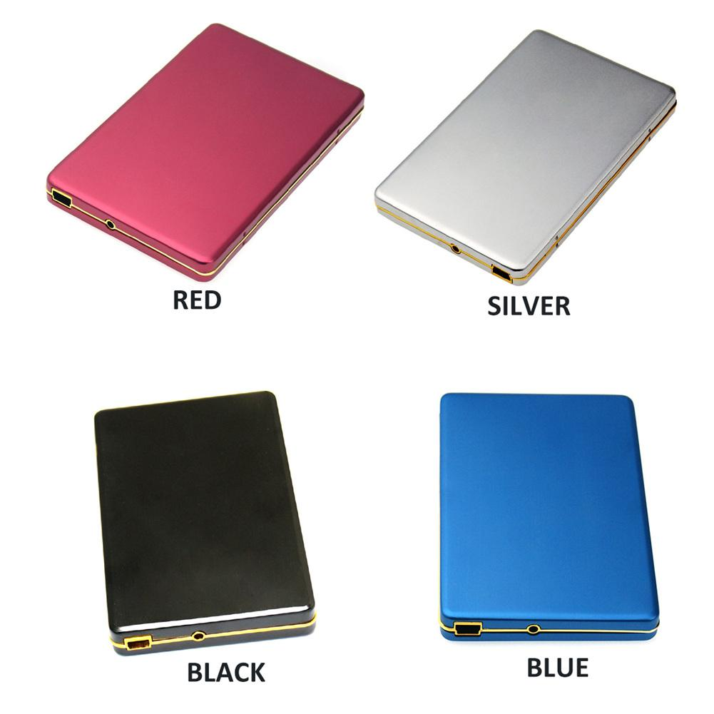 New USB 2.0 (2TB) USB 3.0(1TB) HDD Enclosure Case for Sata 2.5 Inch External SATA Hard Disk Drive SSD Case