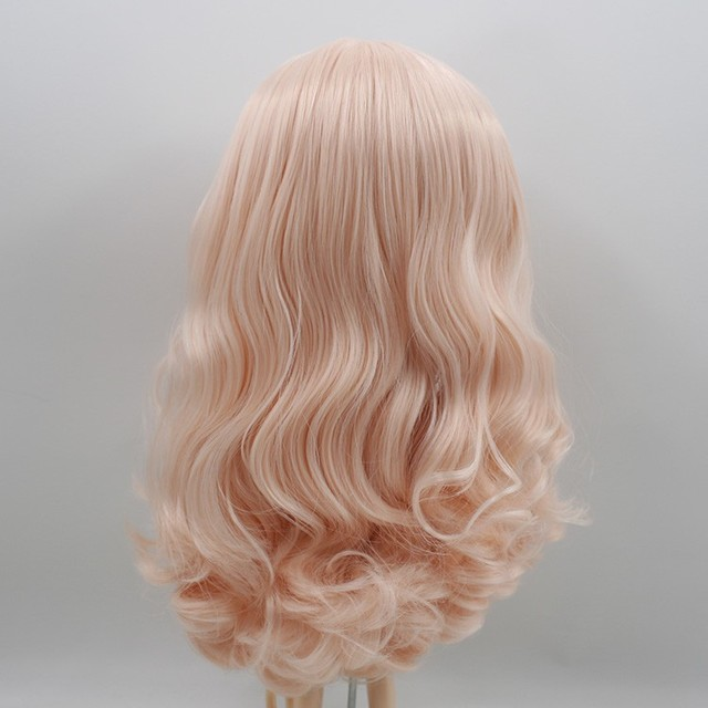 Icy Neo Blythe Doll Champagne Pink Hair Regular Body 30cm