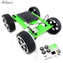 Игрушки на солнечных батареях для детей, 1 набор, мини игрушка на солнечных батареях, сделай сам, игрушка на солнечных батареях, сделай сам, автомобильный набор, Детский развивающий гаджет, хобби, Забавный