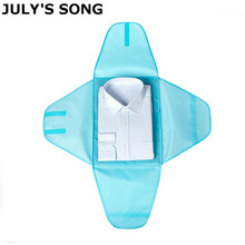 JULY'S SONG New Design Luggage Shirt Clothes Folding Storage Pouch Men Women Tra