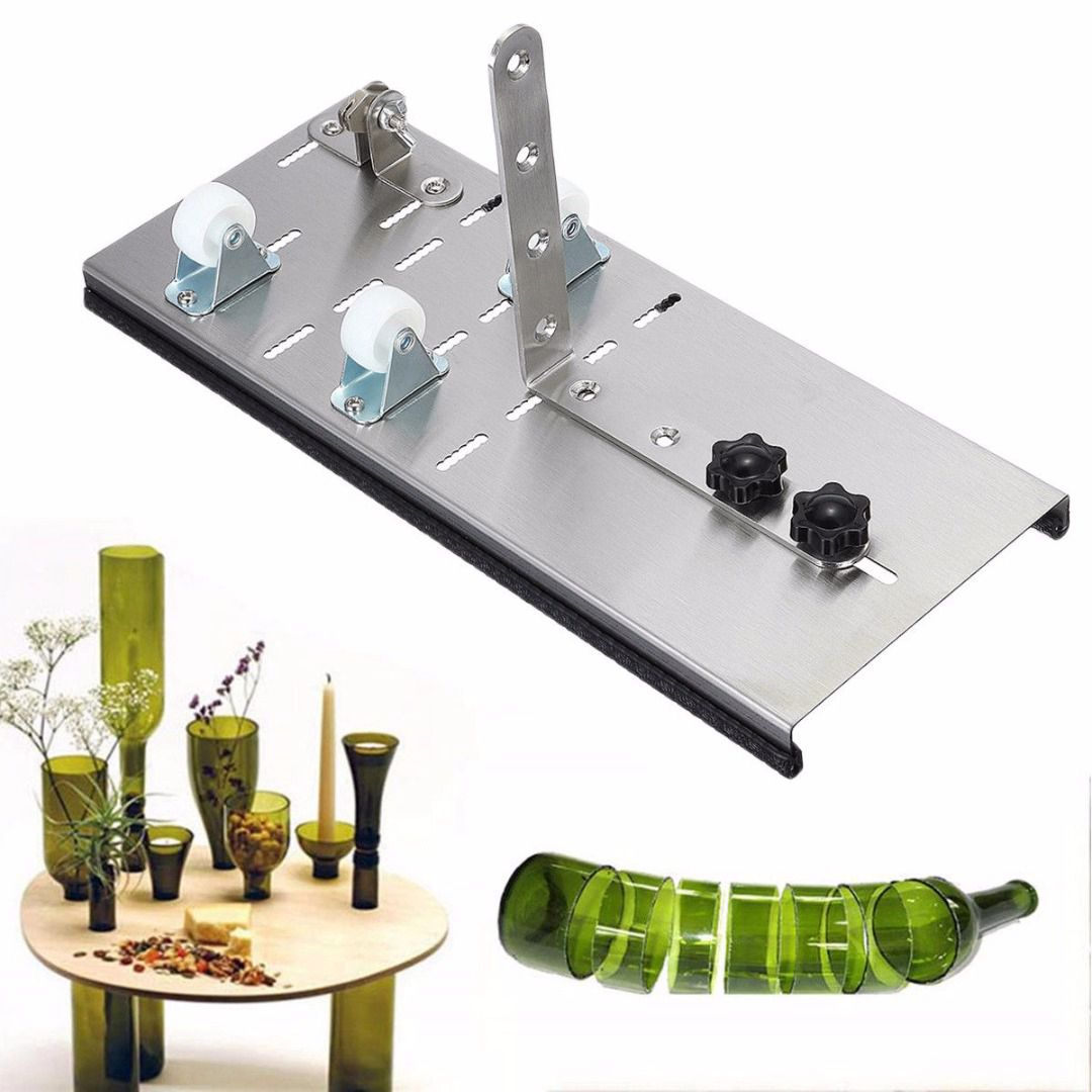 DSHA Adjustable Glass Wine Bottle Cutter High Strength And Hardness Bottle Cutters For Cutting Machine DIY Craft Recycle Tool