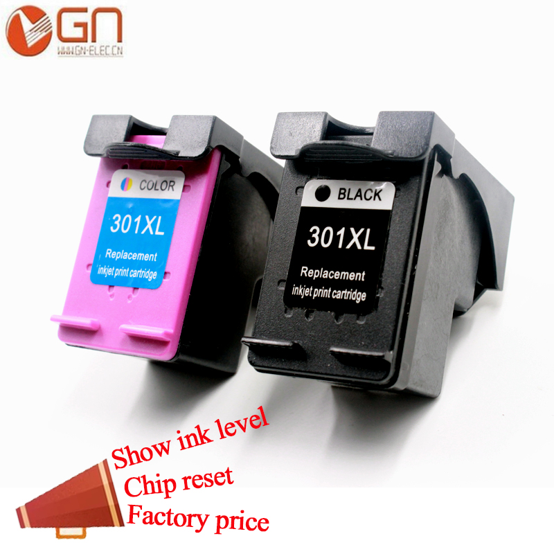 GN For HP 301 XL 301xl compatible for hp301 ink cartridge for HP Deskjet 1000 1010 1050 2000 2050 3000 3050 4500 4502 4504 4505GN For HP 301 XL 301xl compatible for hp301 ink cartridge for HP Deskjet 1000 1010 1050 2000 2050 3000 3050 4500 4502 4504 4505