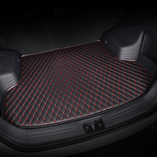 купить HeXinYan Custom Car Trunk Mats for Toyota All Models land cruiser prado camry yaris venza prius Alphard rav4 corolla highlander по цене 2551.41 рублей