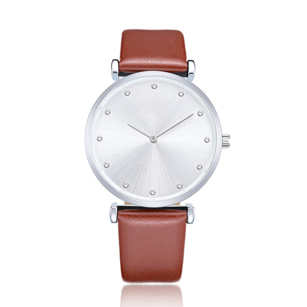 Fashion brand women brand watches quartz casual leather strap wristwatches lady cocks NO.2Fashion brand women brand watches quartz casual leather strap wristwatches lady cocks NO.2