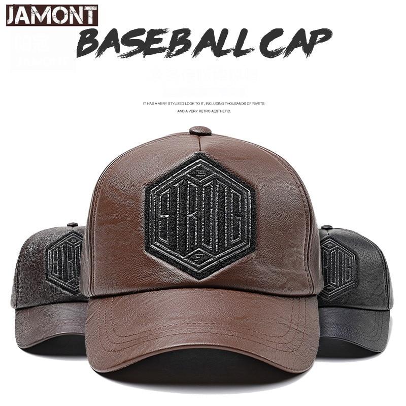 Hats JAMONT Baseball-Cap Gorras-Letter Men Snapback Winter Autumn for Hip-Hop-Hat Outdoor