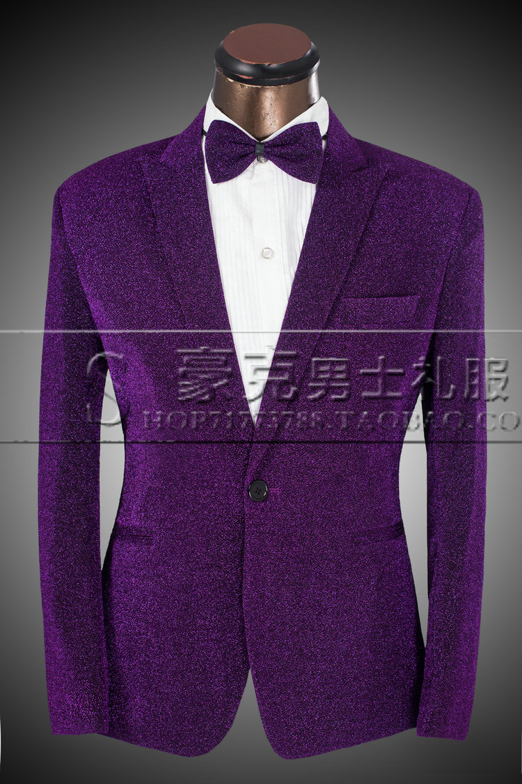 Online Buy Wholesale purple prom suits from China purple prom